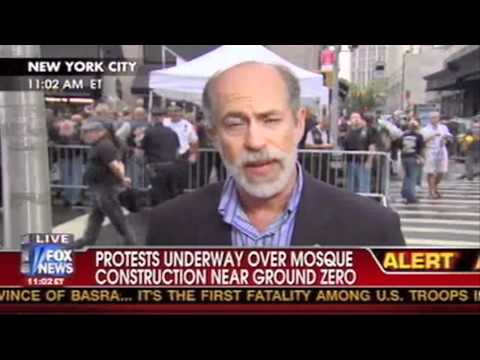 New Yorkers Protest the Ground Zero Mosque