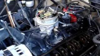 1990 Chevy 350 Startup