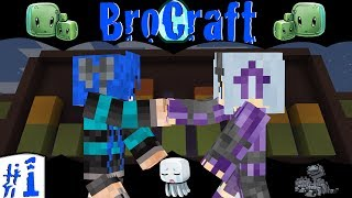 Minecraft: BroCraft: Laughter, Rage, Fails & Regret! |Ep.1|