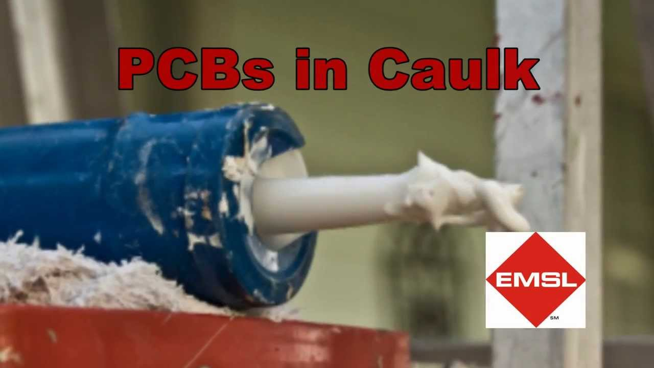 Pcb Caulking In Buildings : Pcbs in caulk other materials testing services by emsl