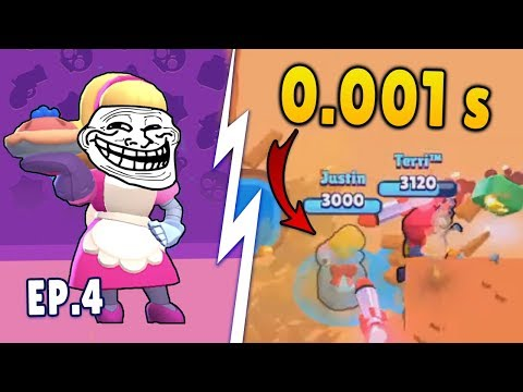 0.01 SECOND MOST INSANE TIMING (Brawl Stars Funny Moments & WTF fails) Ep. 4