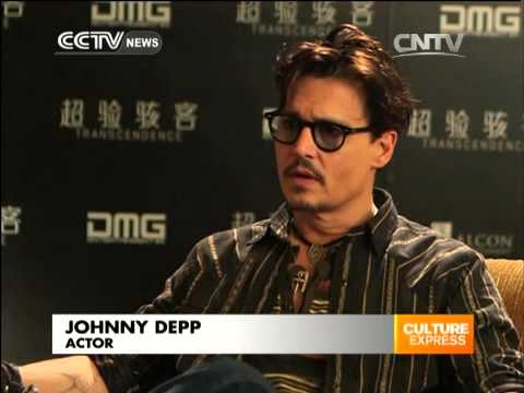 Johnny Depp arrived Beijing to promote new movie