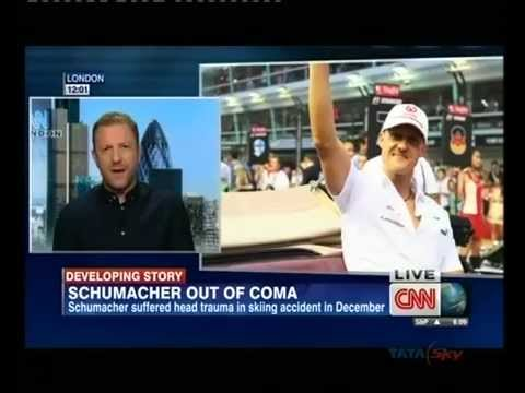 Michael Schumacher now out of coma