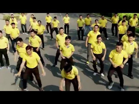 Flashmob What Makes You Beautiful - Nam A Bank