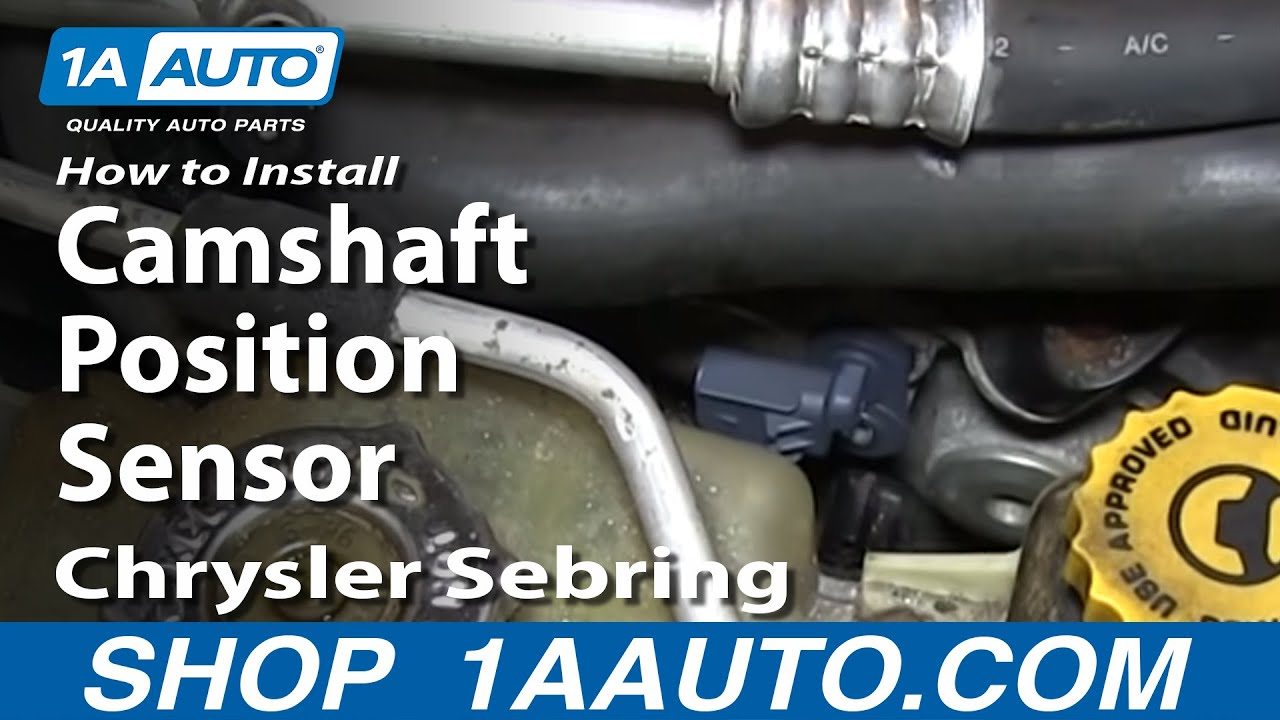 Maxresdefault on 2007 Chrysler Sebring Oil Sensor