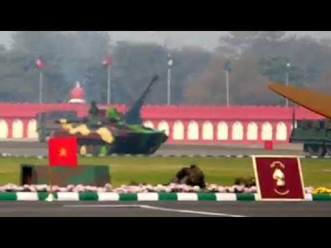 Army Day Parade 2014 Combat Demo (full)