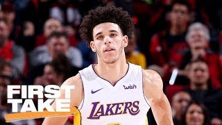 Stephen A. Smith says he doesn't want Lonzo Ball to fail | First Take | ESPN