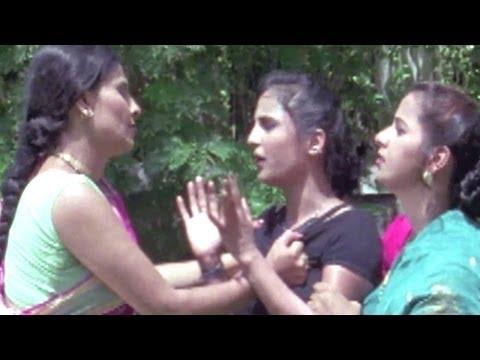 Woman Slapped By Another Woman, Bedardi Balma - Bhojpuri Scene 10/14