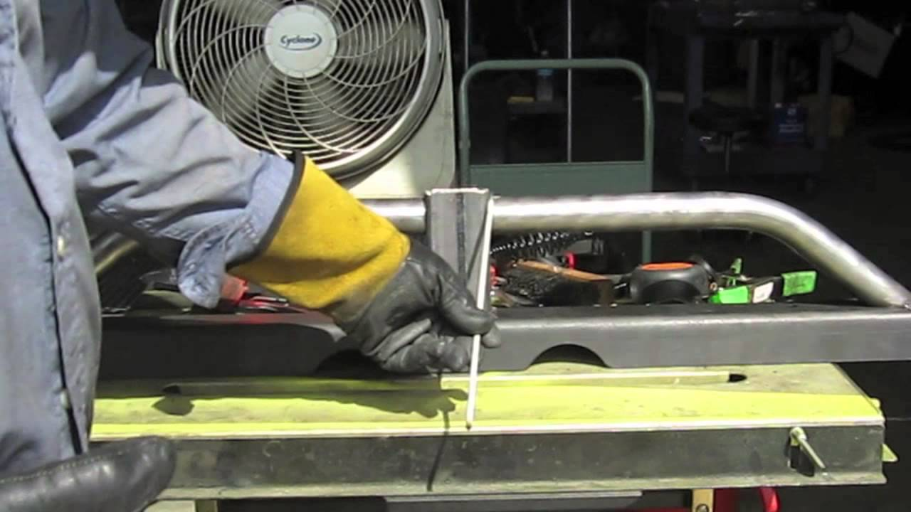 Arc Welding A Swag Off Road Bumper Kit With A Buzz Box