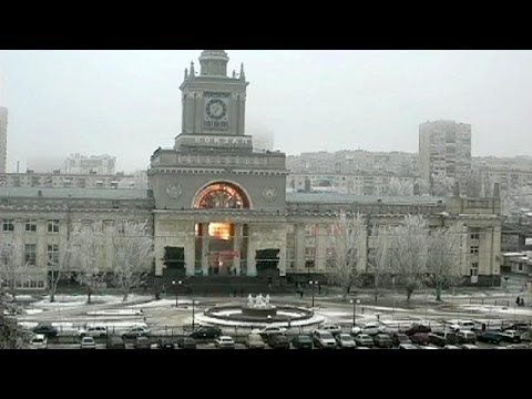 Russian train station blast: Moment of deadly suicide attack in Volgograd caught on CCTV