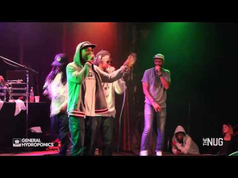 TheNug W/ Hieroglyphics x Fashawn @The Catalyst 1/25/14