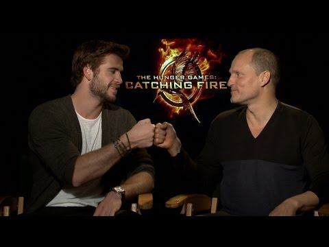 Liam Hemsworth and Woody Harrelson talk to TODAY about The Hunger Games: Catching Fire