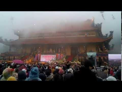 Lễ cắt băng khánh thành ngôi tam bảo chùa ba vàng