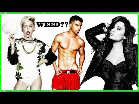 ♥JOE JONAS SMOKING WEED WITH DEMI LOVATO AND MILEY CYRUS!! ♥