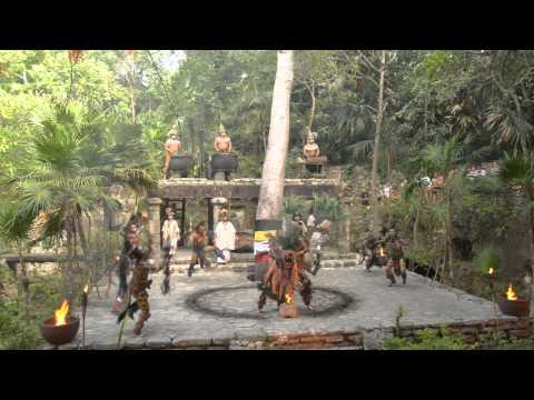 Danza prehispanica del pueblo Maya