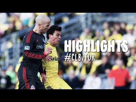 HIGHLIGHTS: Columbus Crew vs. Toronto FC | April 5, 2014