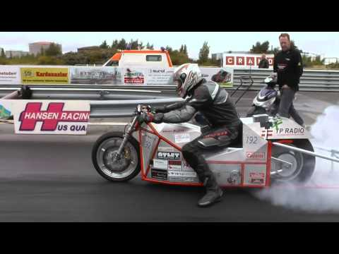 New World record Silver Bullitt 150 V - Malmo Raceway