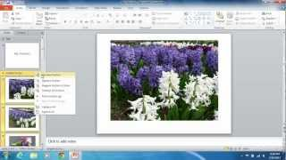 How To Group PowerPoint 2010 Slides