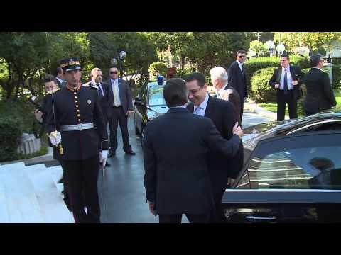 18 3 2014 Întrevedere Victor Ponta - Antonis Samaras