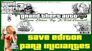 GTA 5 TUTORIAL SAVE EDITOR PARA INICIANTES
