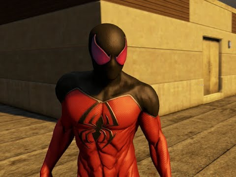THE AMAZING SPIDER-MAN 2 VIDEOGAME - SCARLET SPIDER COSTUME SHOWCASE