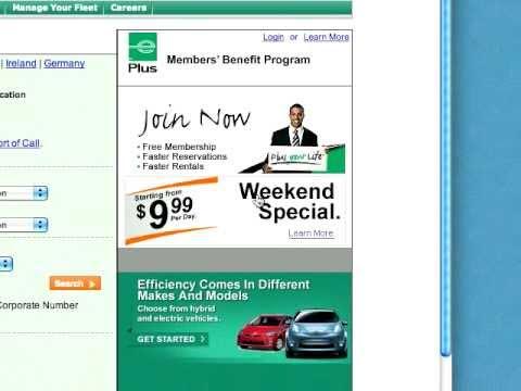Enterprise Car Rental   Weekend Special