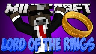 Minecraft LORD OF THE RINGS Lets Play MEETING THE ELVES
