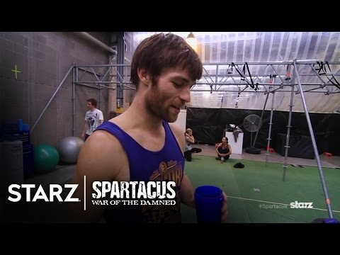 Spartacus | War of the Damned - Gladiator Boot Camp | STARZ