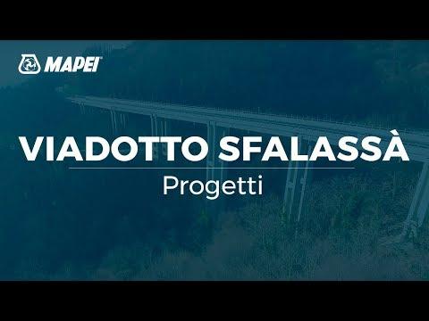 Mapei - Viadotto Sfalassa - protezione galvanica