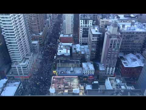 Millions March NYC (Time Lapse)