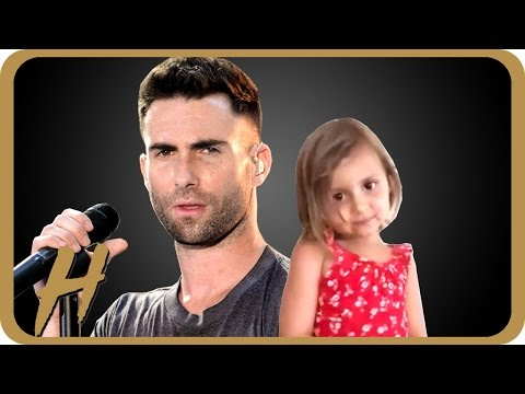 Adam Levine's Marriage BROKE This Little Girl's Heart | Hollyscoop News