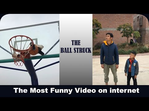 The Ball Stuck    Most Funny Video on internet right now!