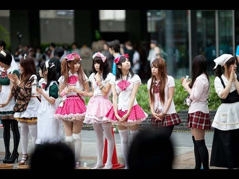 Cosplay, Harajuku, Shopping street of Japan