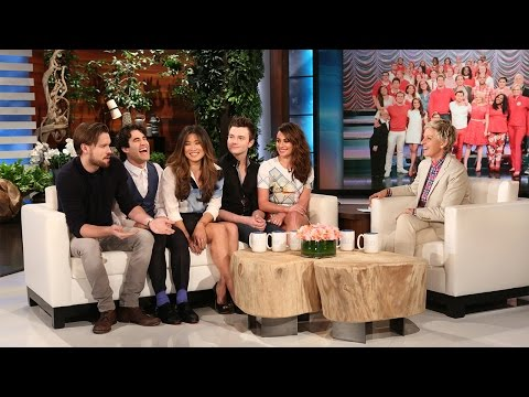 The Cast of 'Glee' on Their Final Taping