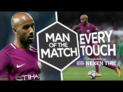 DELPH'S TOUGH TACKLING | Every Touch: Fabian Delph | Chelsea 0-1 Man City
