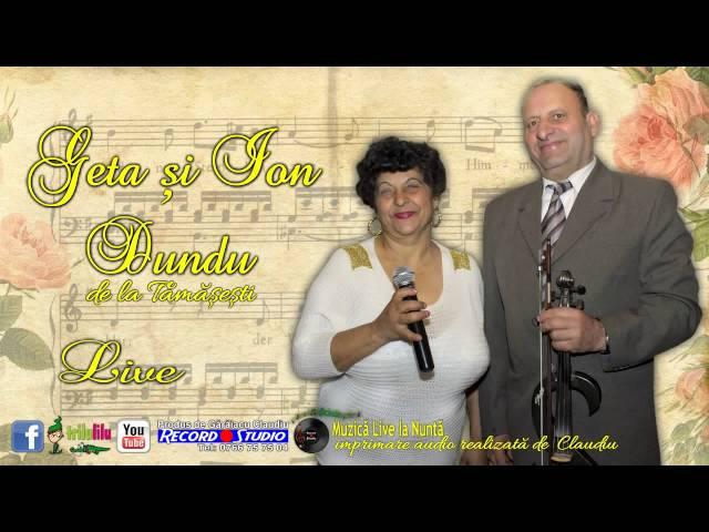 Formatia Geta si Ion Dundu de la Tamasesti Gorj Muzica Lautareasca Veche - Instrumentala Vioara LIVE