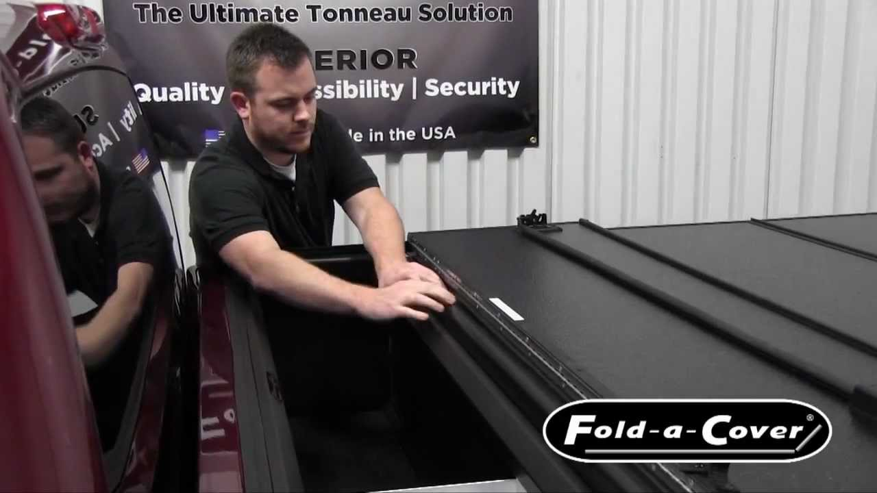 Fold A Cover >> Personal Caddy Install and Features for Fold-a-Cover ...
