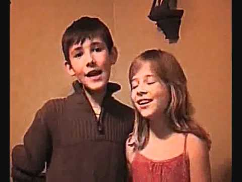 this is me and my brother singing over the rainbow jake
