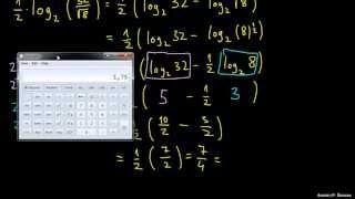 Primer – uporaba pravil za logaritmiranje