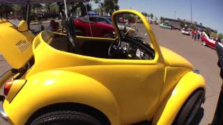 "Volkswagen Beetle, Bug, Shortened By 42"" Inches"