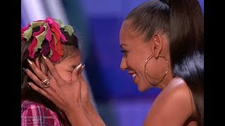 "Adorable Little Girl Gets a Kiss From MEL B :) ""I am Awesome"" LOL!"