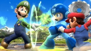 Super Smash Bros 4 Characters: Luigi Trailer (WII U / 3DS