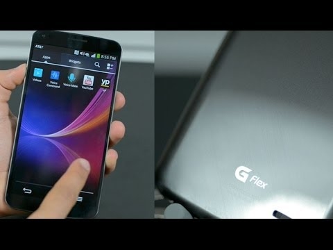 LG G Flex First Look