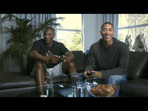 NBA 2k10: Kobe Bryant vs Derrick Rose