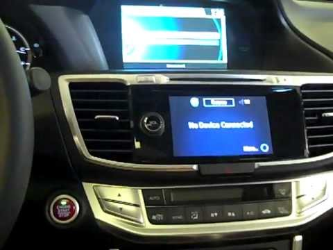 2013 Honda Accord vs 2012 Camry- Bluetooth & Voice Recognition