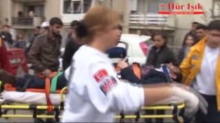 Manisa Laleli'de Trafik Kazası 3 Yaralı