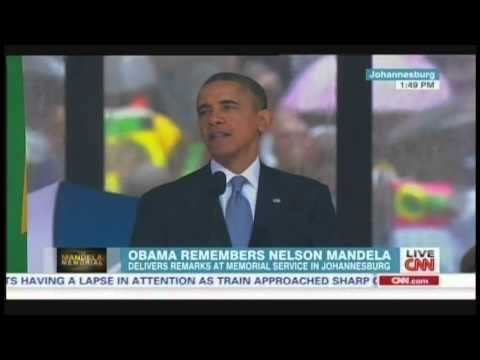 President Obama Nelson Mandela Memorial Service Johannesburg South Africa (December 10, 2013) [2/2]