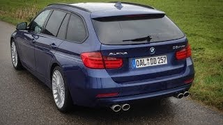 BMW Alpina D3 Biturbo Touring and BMW 335d xDrive sound and acceleration
