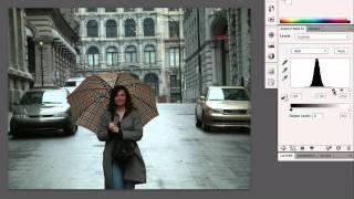 Efek Hujan Pada Foto Dengan Adobe Photoshop