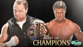 Dean Ambrose vs. Dolph Ziggler - United States Championship - WWE Night of Champions (WWE 13)